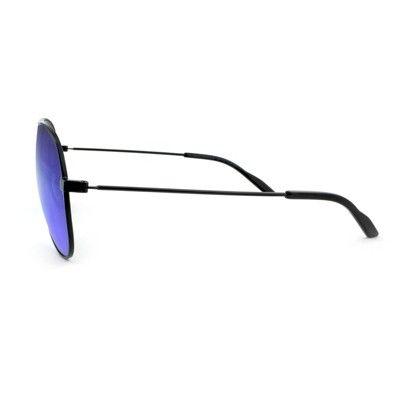 073fd64fe61ac Women s Aviator Sunglasses with Blue Lenses - Wild Fable Black ...