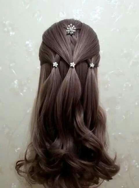 peinadosfaciles peinados Pinterest Hair style, Girl hair and