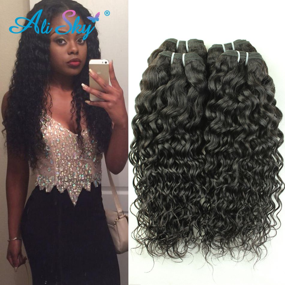 Ali sky hair products malaysian virgin hair water wave hc cheap price tracker and history of ali sky hair products malaysian virgin hair water wave hc cheap human hair 3 bundles malaysian water wave natural curls pmusecretfo Images