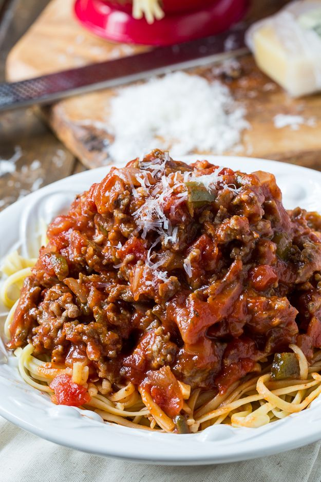 Southern Sausage Spaghetti Sauce Spicy Southern Kitchen Recipe Spaghetti Sauce Recipe Sausage Spaghetti Italian Sausage Spaghetti