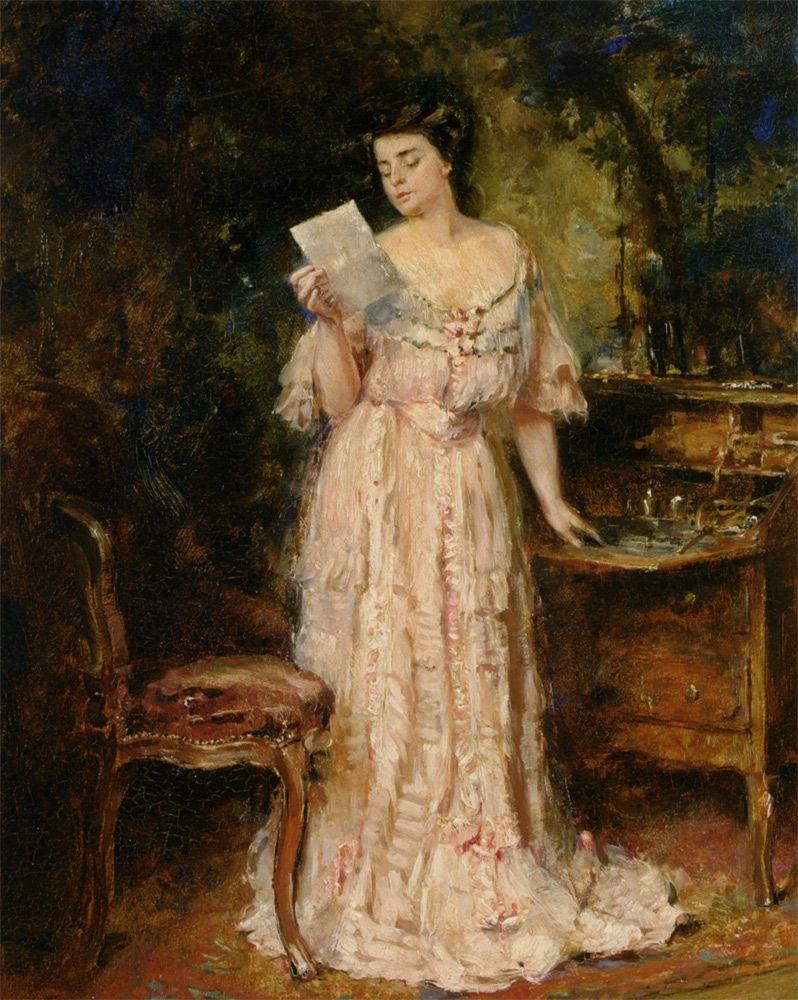 tumblr--the letter - albert roelofs, 1909 | art | pinterest