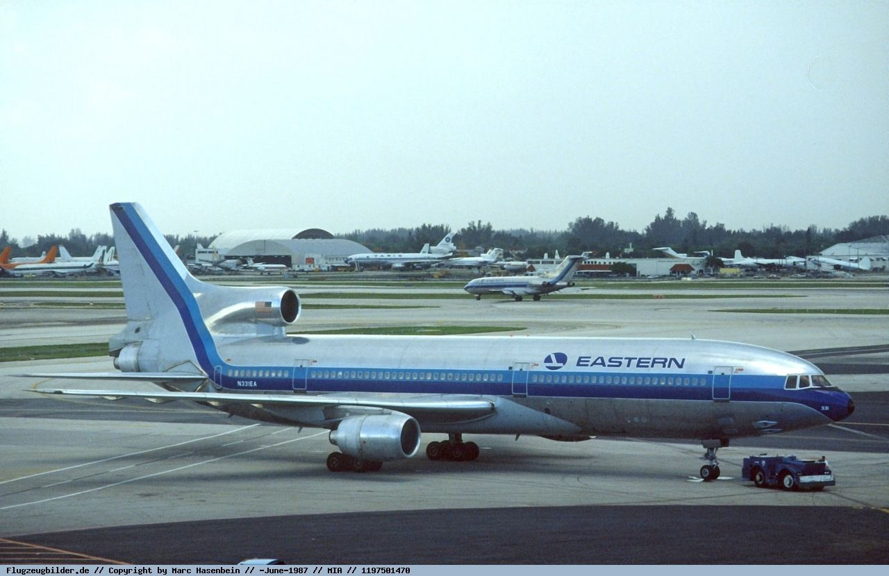 Photo Eastern Airlines Lockheed L1011100 TriStar N331EA