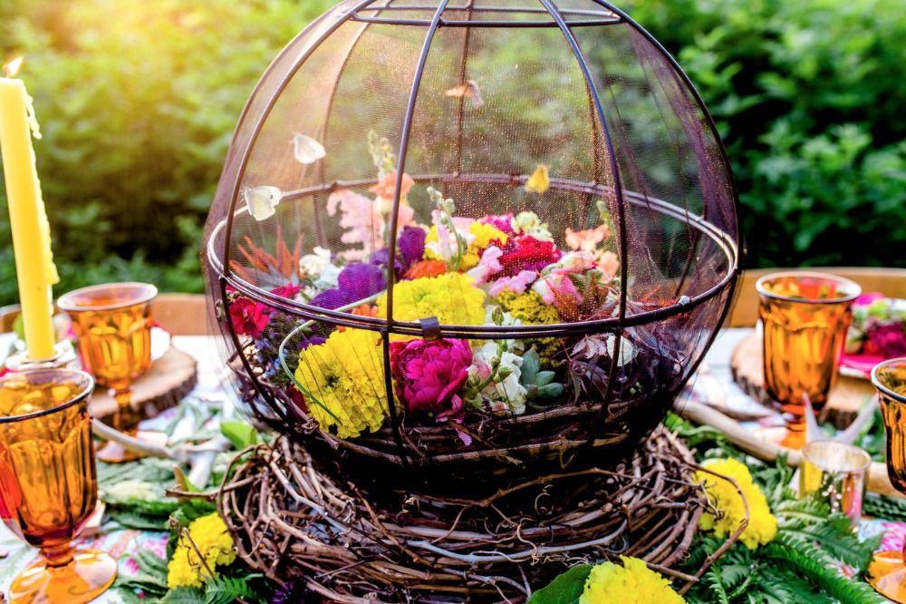 Boho Summer Festival Wedding Ideas Festival wedding