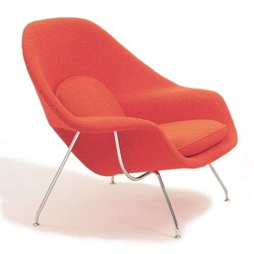 The Womb Chair A Classic I Will Buy For Myself For A Monumental Occasion But In Gray Http Bit Ly Hmrvjy Saarinen Womb Chair Womb Chair Knoll Chairs