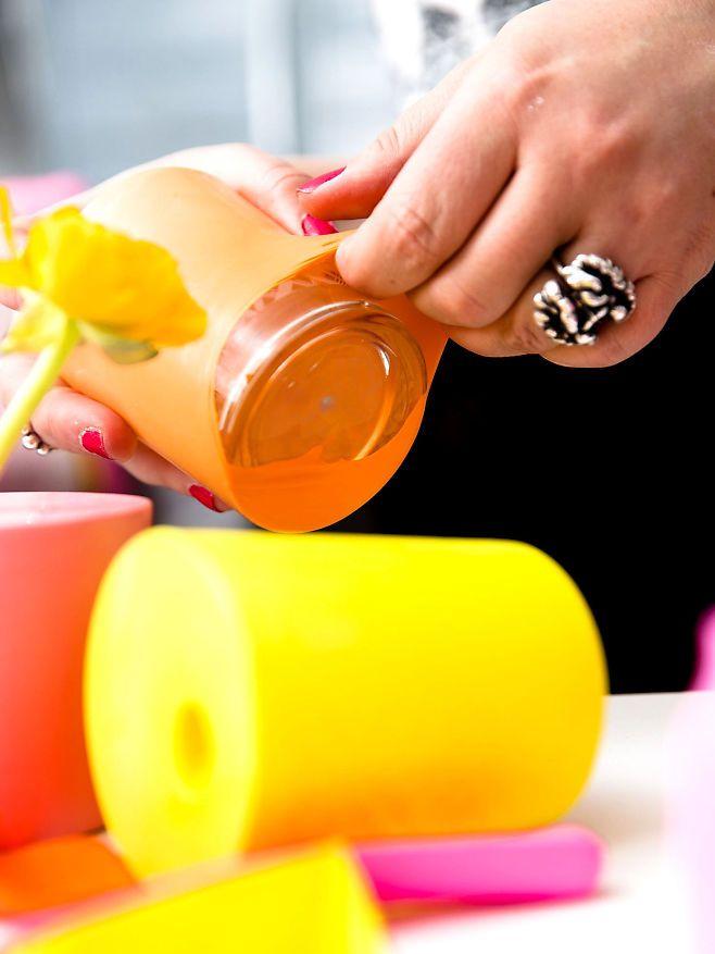 Lag ditt eget trendy interiør! - ballong vase DIY