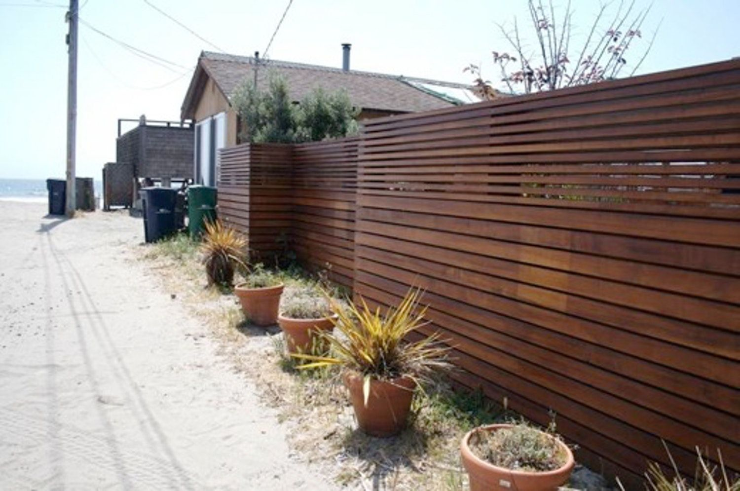 look modern fence apartment therapy modern fence on modern fence ideas highlighting your house with most shared privacy fence designs id=44770
