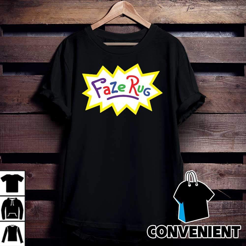 Faze Rug Logo T Shirt Birthday Gift Shirt Sweatshirt Hoodie In 2020 Tee Shirt Rug Handmade Rugs T Shirt Yarn
