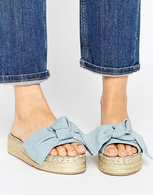 Alpargatas con lazo JOLLY de ASOS at asos.com. Bow SlidesBow HuntingToms  StyleWomen's EspadrillesAutumn FashionShoes ...