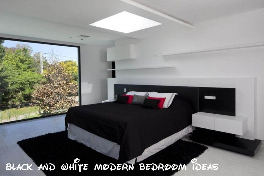 133 Gorgeous Black And White Modern Bedroom Ideas White Bedroom Design Bedroom Design Modern Bedroom Design Black and white modern bedroom