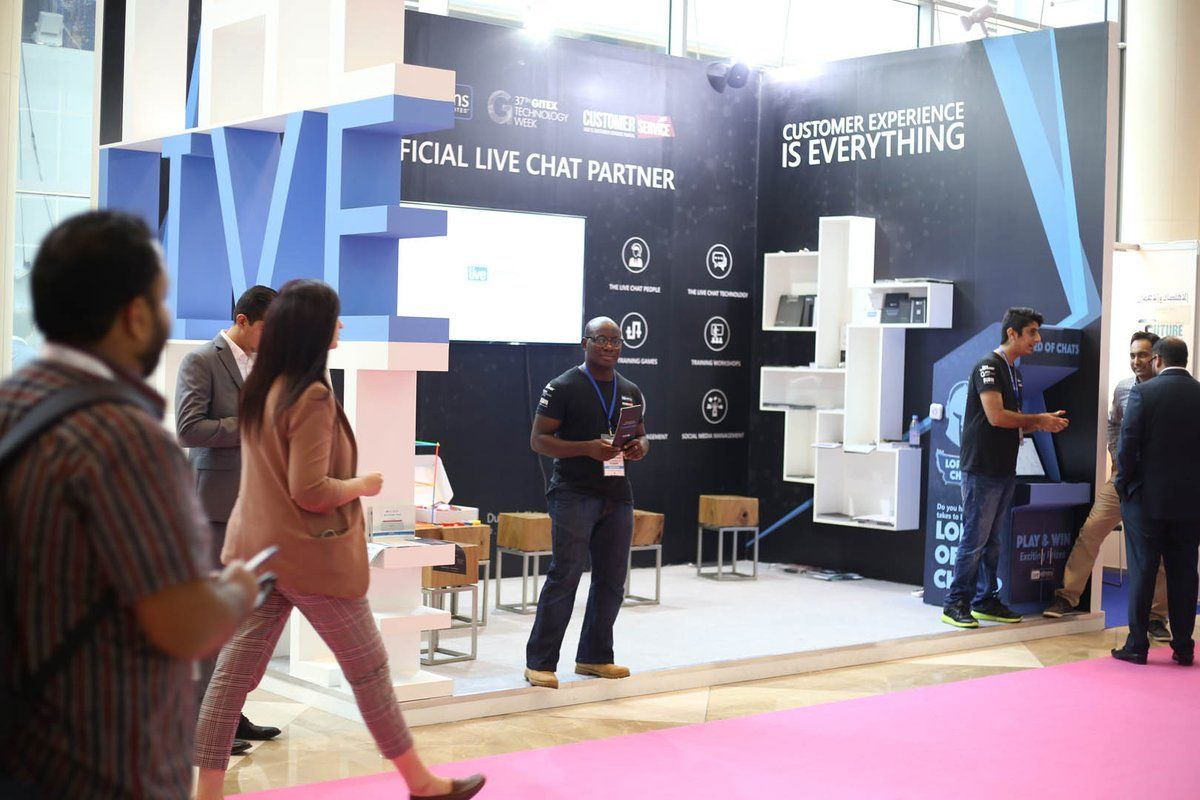Have you met TheLiveChatPeople at GITEXTechWeek? Visit