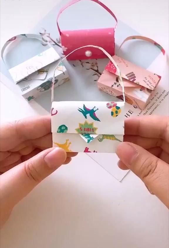 Photo of DIY Origami Lovely Handbags 👜