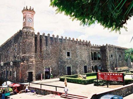 Palacio de Cortés. Cuernavaca Morelos México