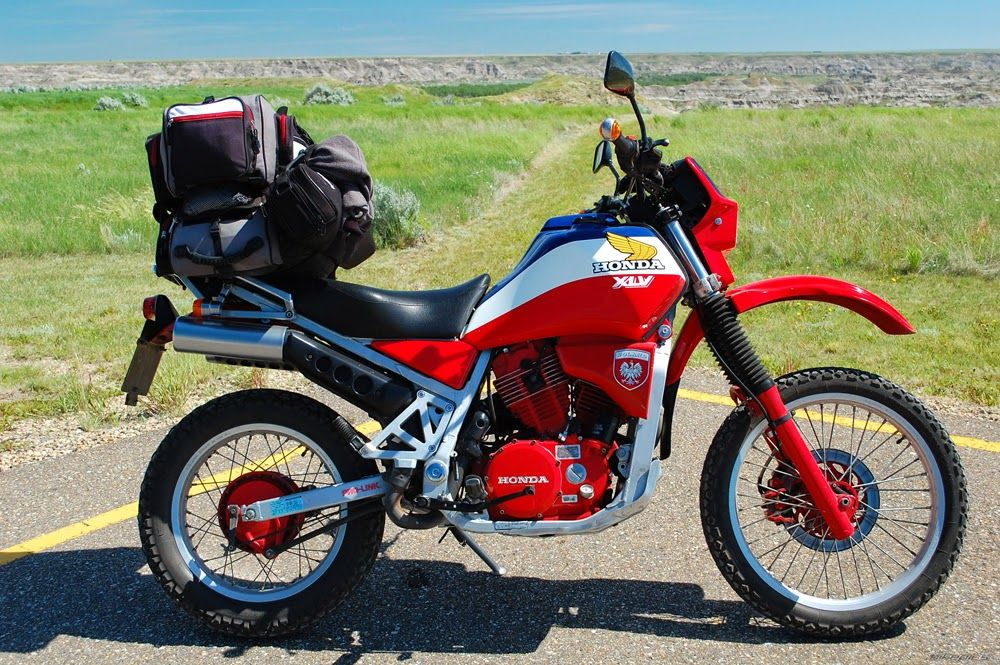 The Honda XLV750R is a dualsport motorcycle manufactured