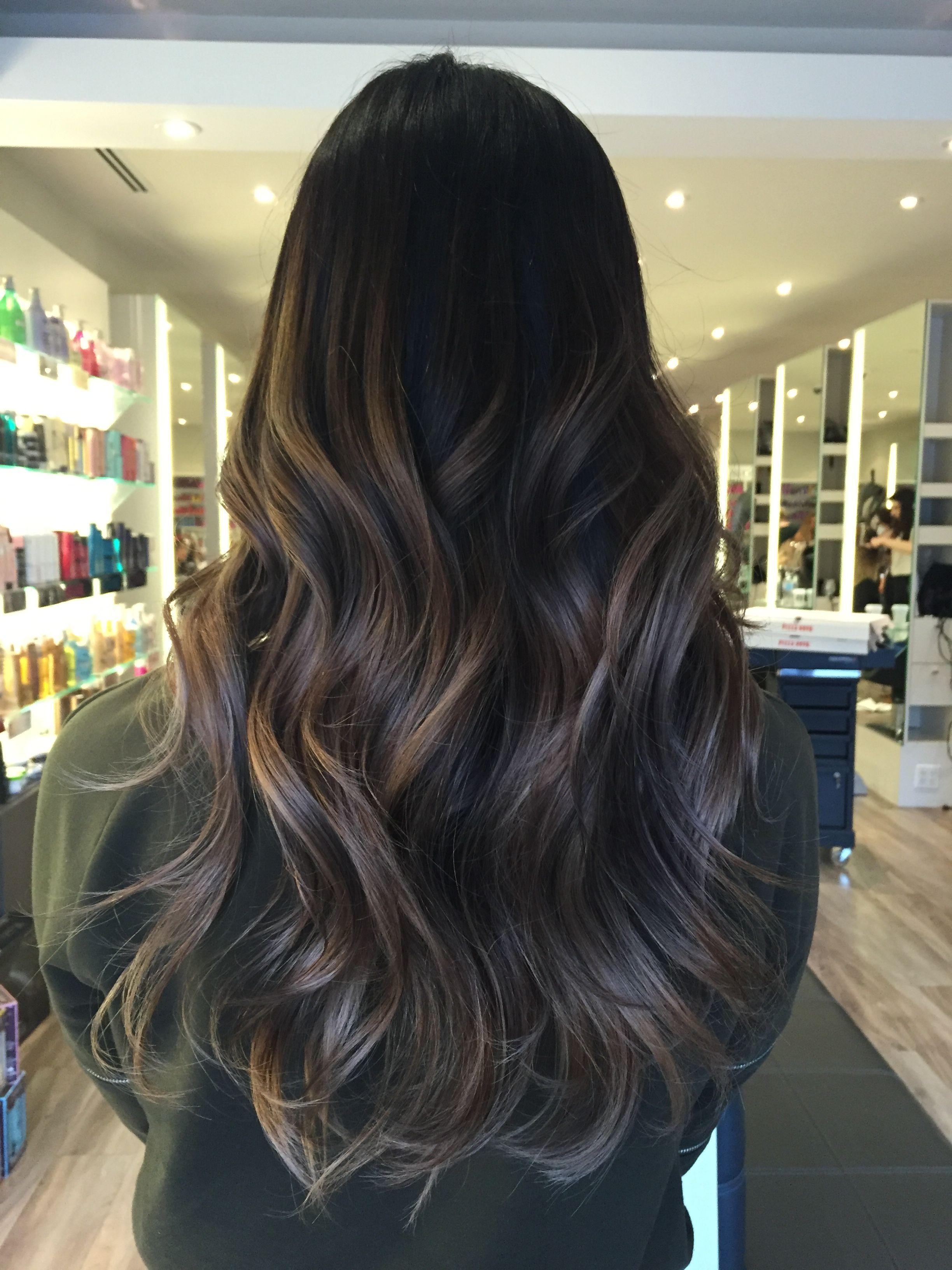 Bronde Balayage Hair Color Ash Hair Color Balayage Hair Brunette Hair Color