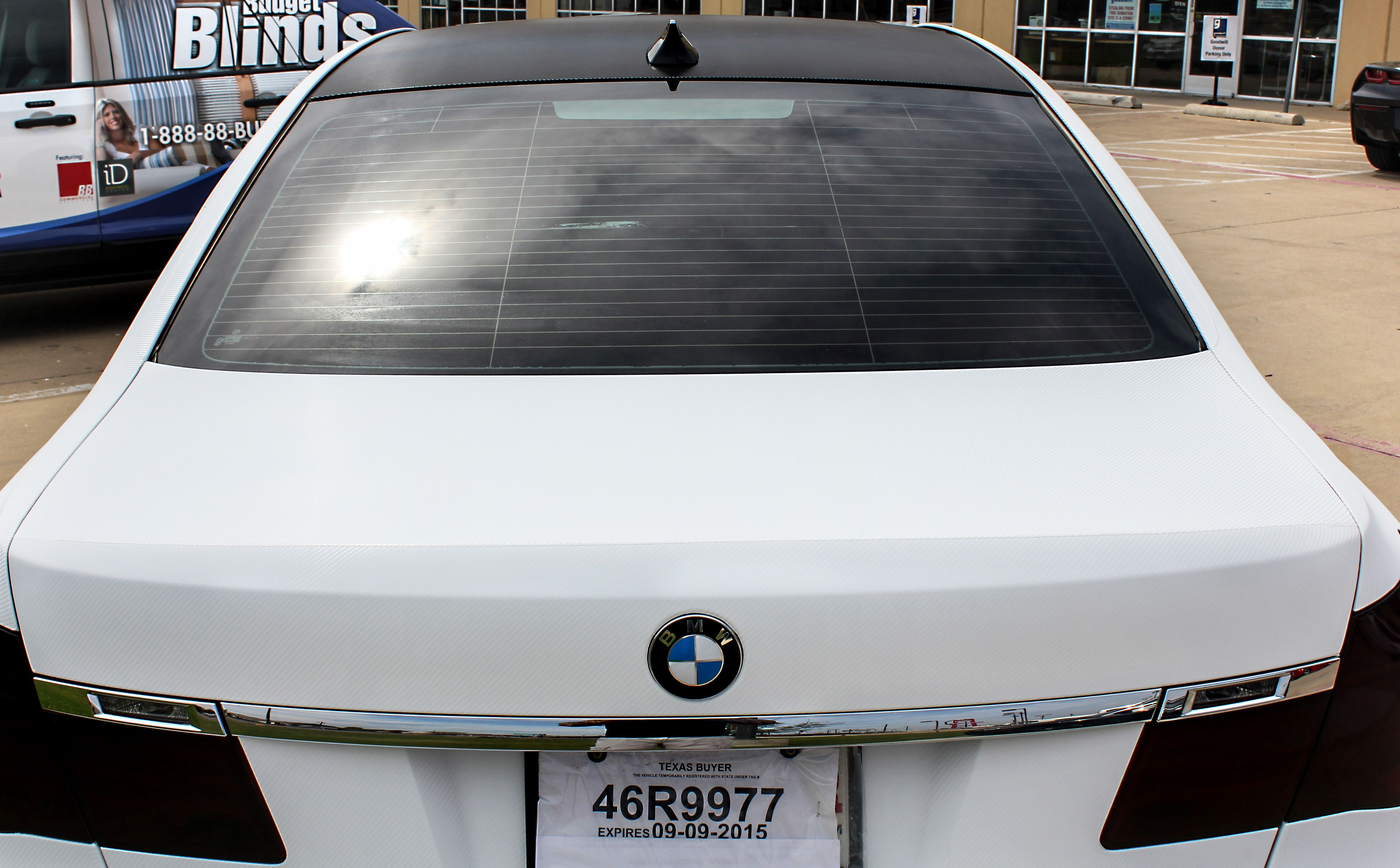 Full Carbon Fiber Wrap White and Black   Carbon Fiber Wraps