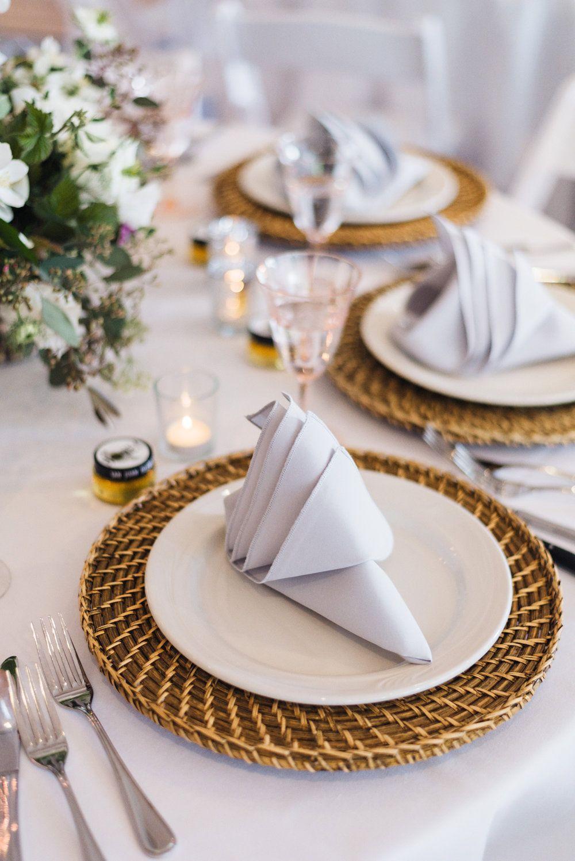 Hochzeitsservietten Servietten Falten Einfach Und Wirkungsvoll