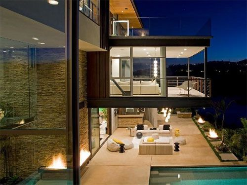 Luxury House Hollywood Hills Architectural Masterpiece - Hollywood-hills-architectural-masterpiece