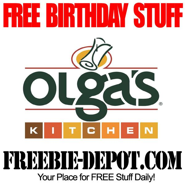 free birthday stuff olgas kitchen birthday freebie dessert free bday rewards freebirthday - Olgas Kitchen