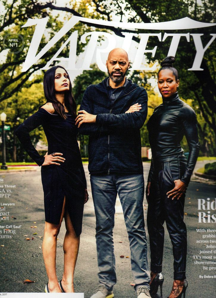VARIETY MAGAZINE APRIL 4 2017 JOHN RIDLEY SMURFS GHOST IN THE SHELL BREAKING BAD