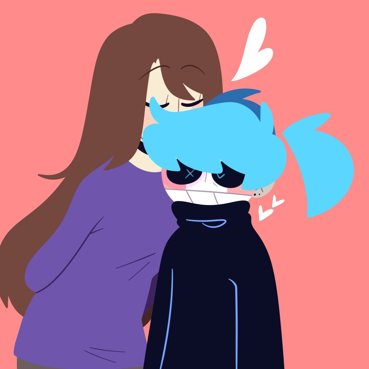 Pin By Kazekagegodaime On Sallyface With Images Sally Face Game Epic Art Girls In Love