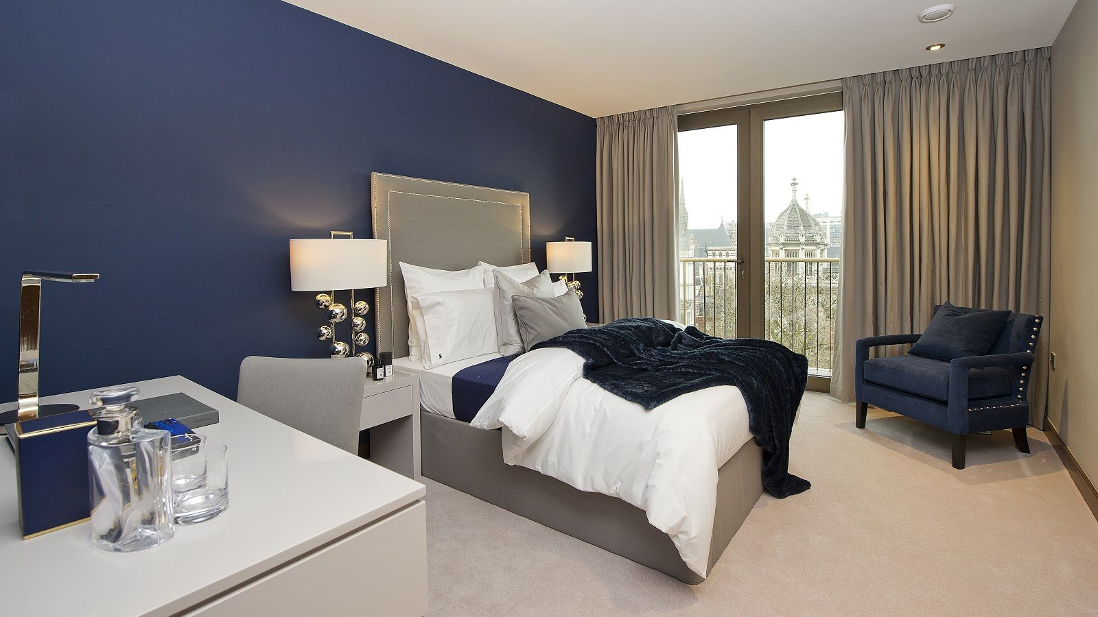 St Dunstan's Court Taylor Wimpey Central London. Bedroom