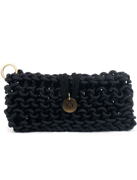 Statement Clutch - Meditereanean Rhythm Bag by VIDA VIDA at3oNHrcX0