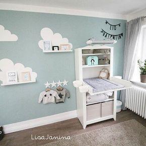 Babyzimmer junge wandgestaltung  Wandgestaltung babyzimmer junge | Detská izba | Pinterest ...