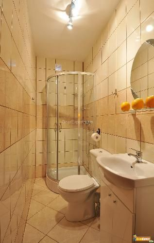 small corner bathroom with shower google search