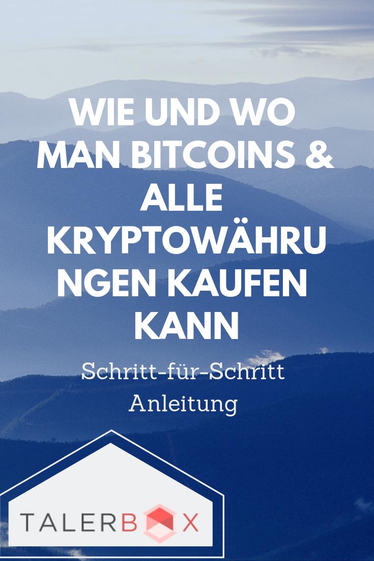Wie Kann Man Bitcoins Kaufen
