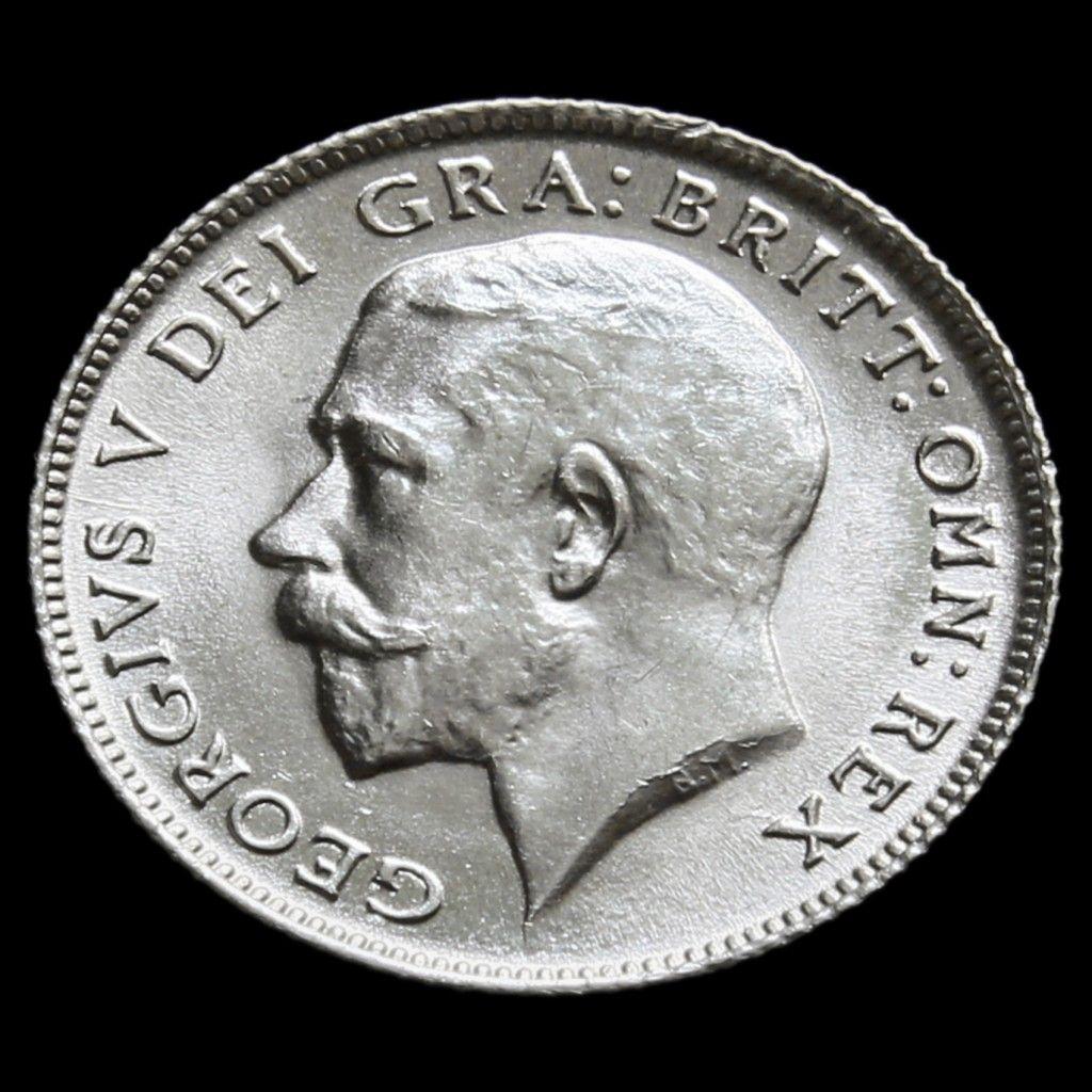 1911 George V Silver Sixpence - Choice BU