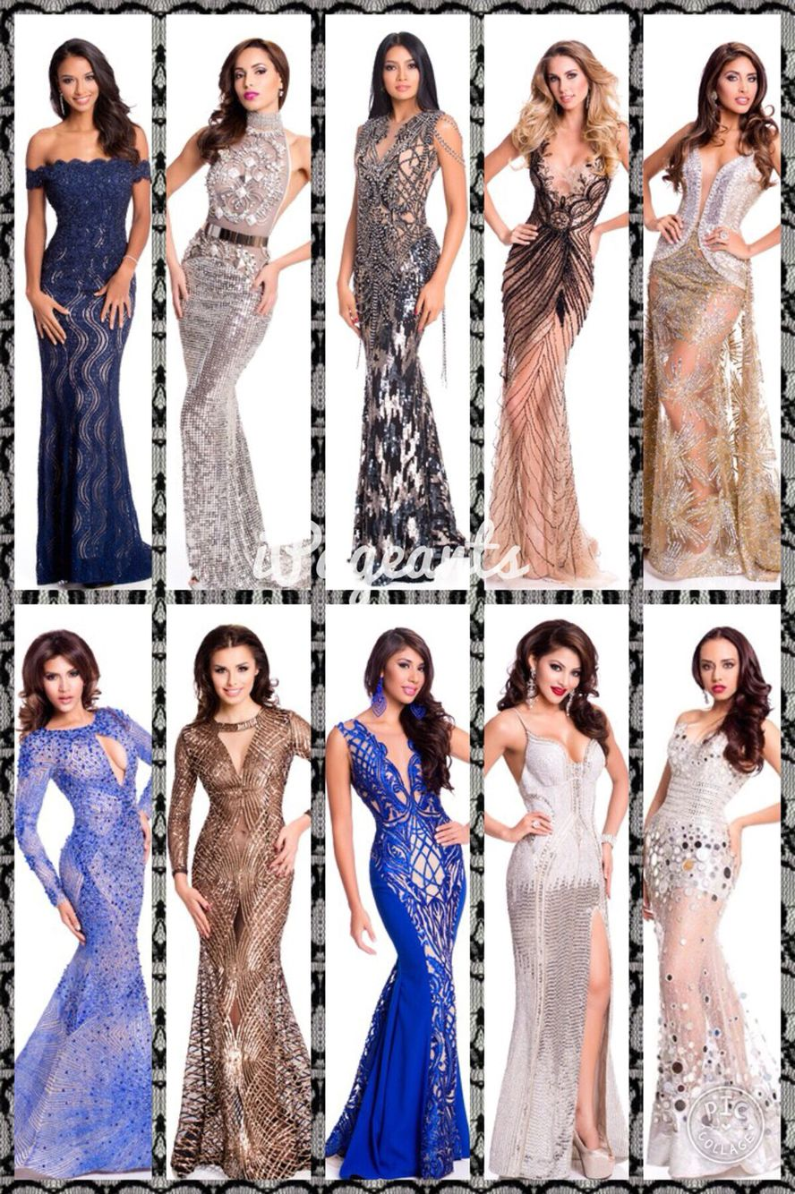 iPageants Top 10 Best Evening Gown Official Portrait Miss Universe ...