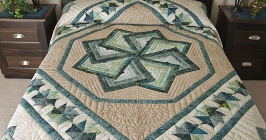 autumn star spin quilt directions pdf quilts table runners rh pinterest es