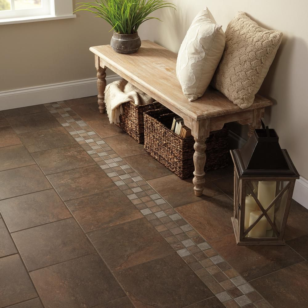 Daltile Longbrooke Parkstone 12 in. x 12 in. Ceramic Floor and Wall ...