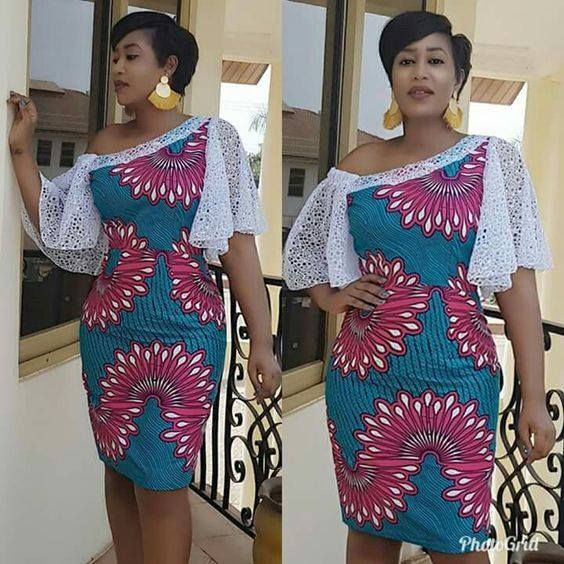 19d87eb880c Short African Dresses 2018