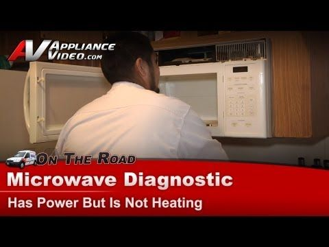 Microwave Diagnostic Has Power Not Heating Ge General