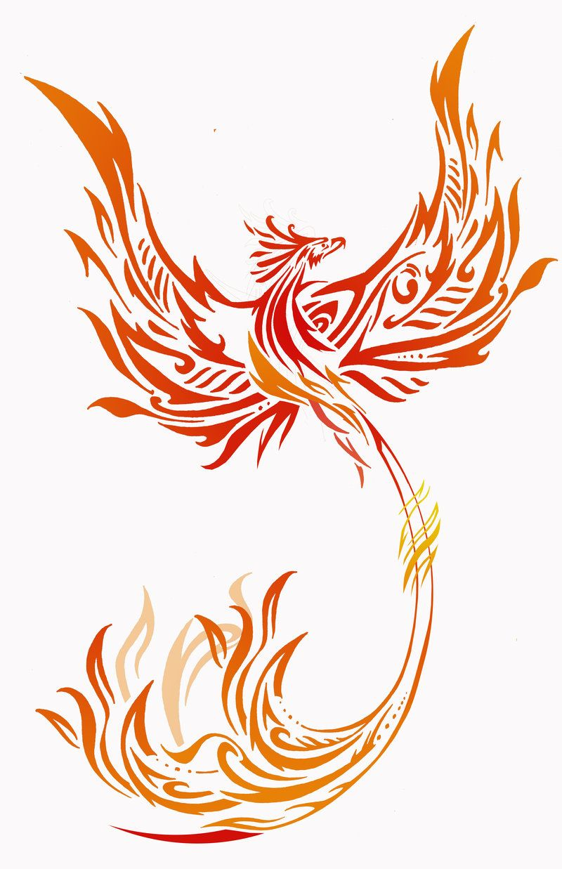 Phoenix 2 By Rainingcrow Deviantart Com On Deviantart Phoenix Bird Tattoos Phoenix Tattoo Design Phoenix Tattoo