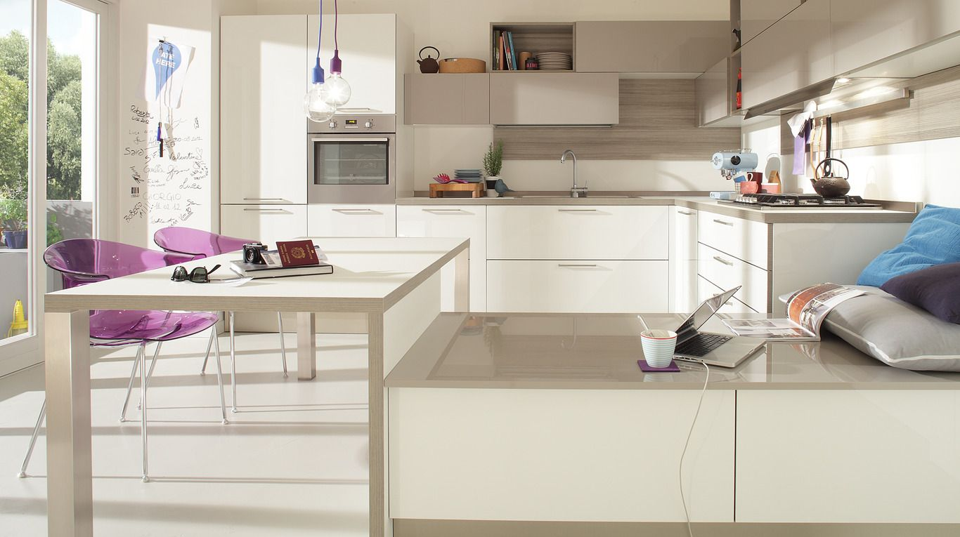 Veneta Cucine: START-TIME Collection. Start off on the right foot ...