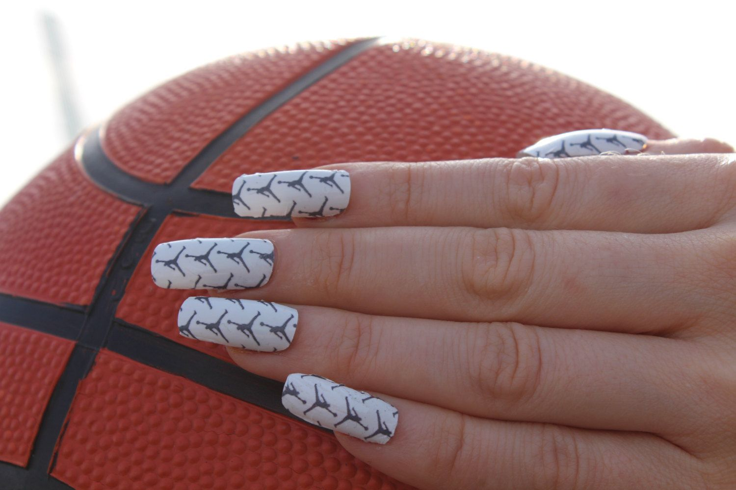Pin by Essance on Nail it... | Pinterest | Nike nails, Jumpman logo ...