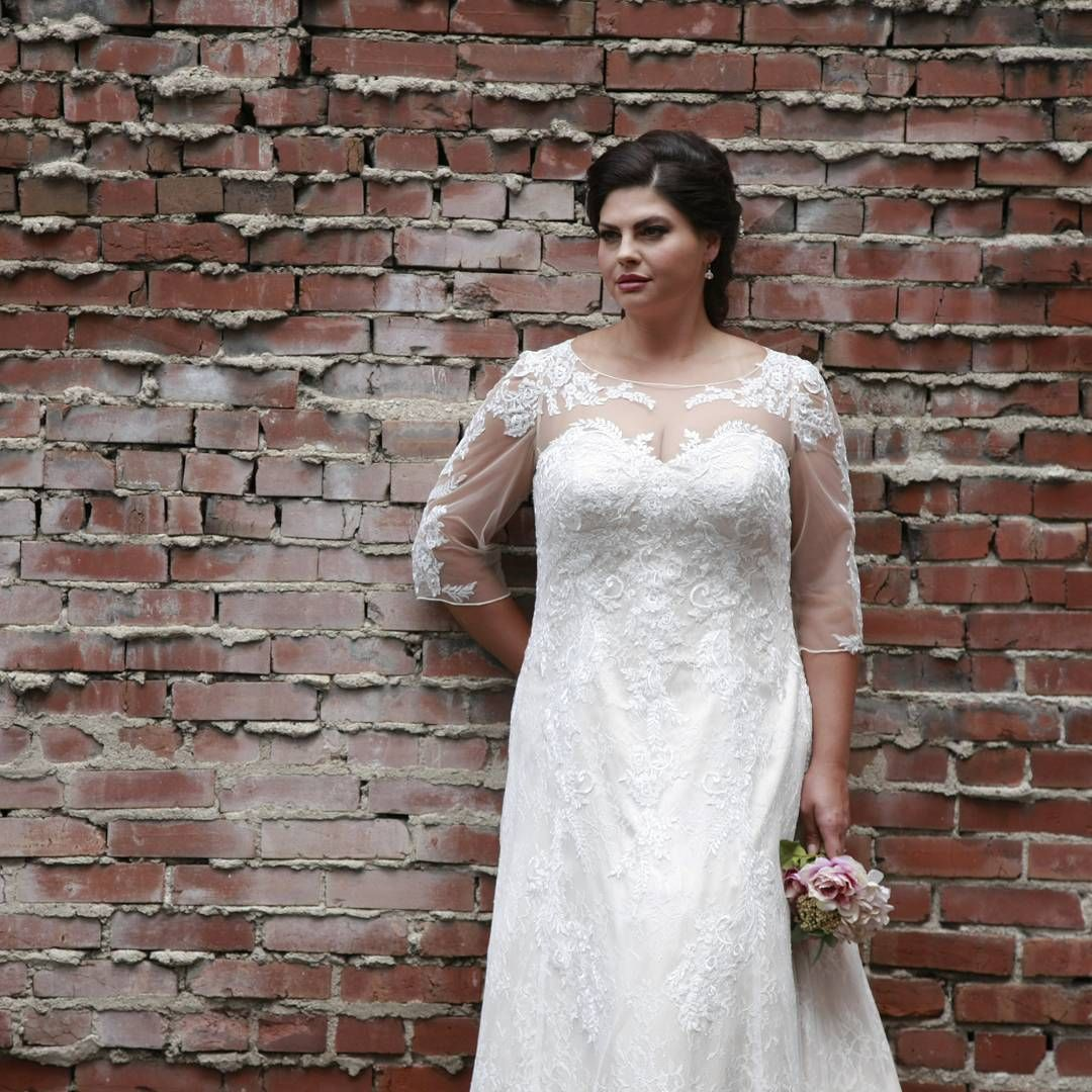 Wedding dresses for curvy brides  Brides looking for custom plus size wedding gowns can get elegant