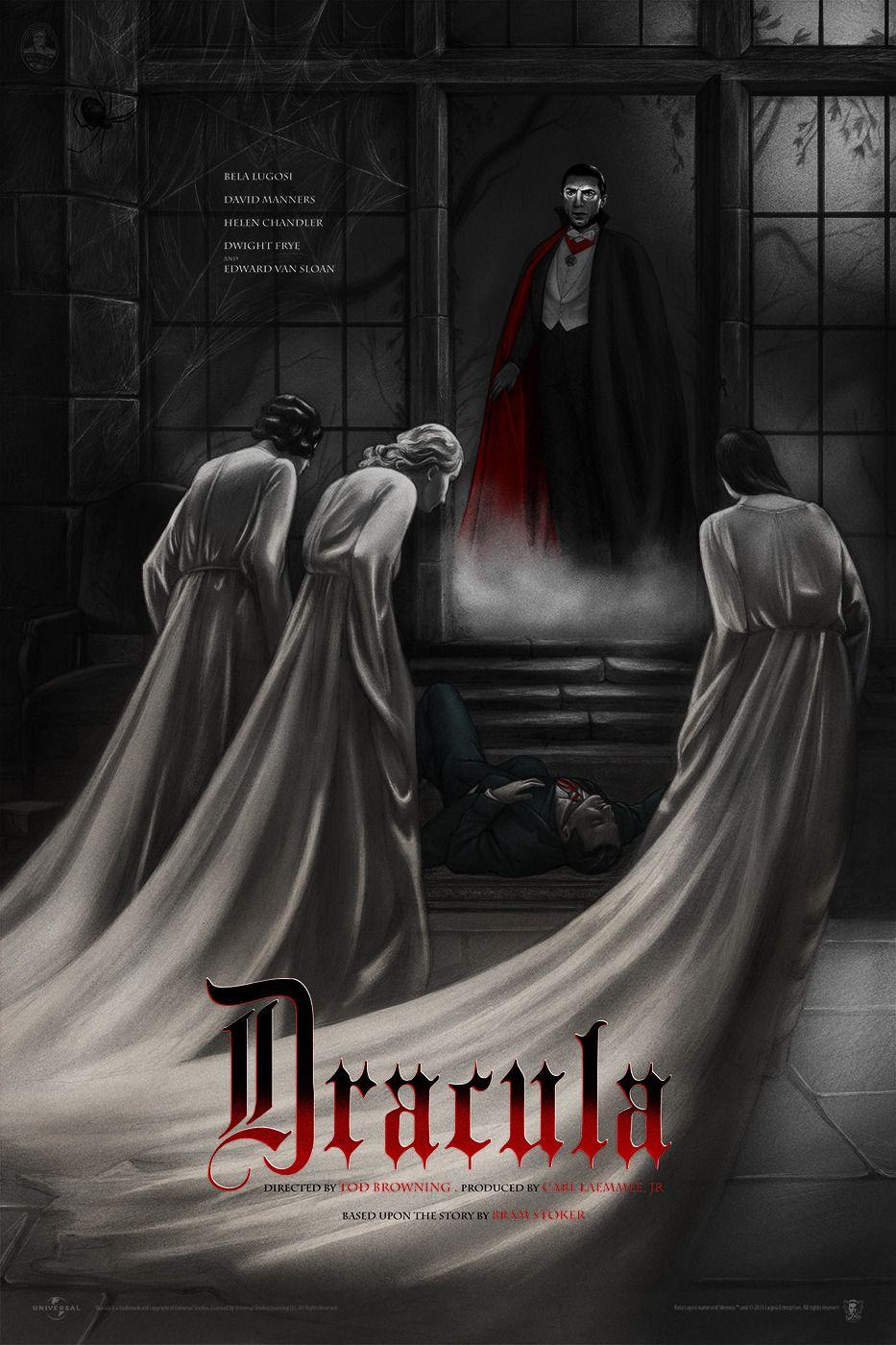 Dracula by jonathan burton horror movie art horror
