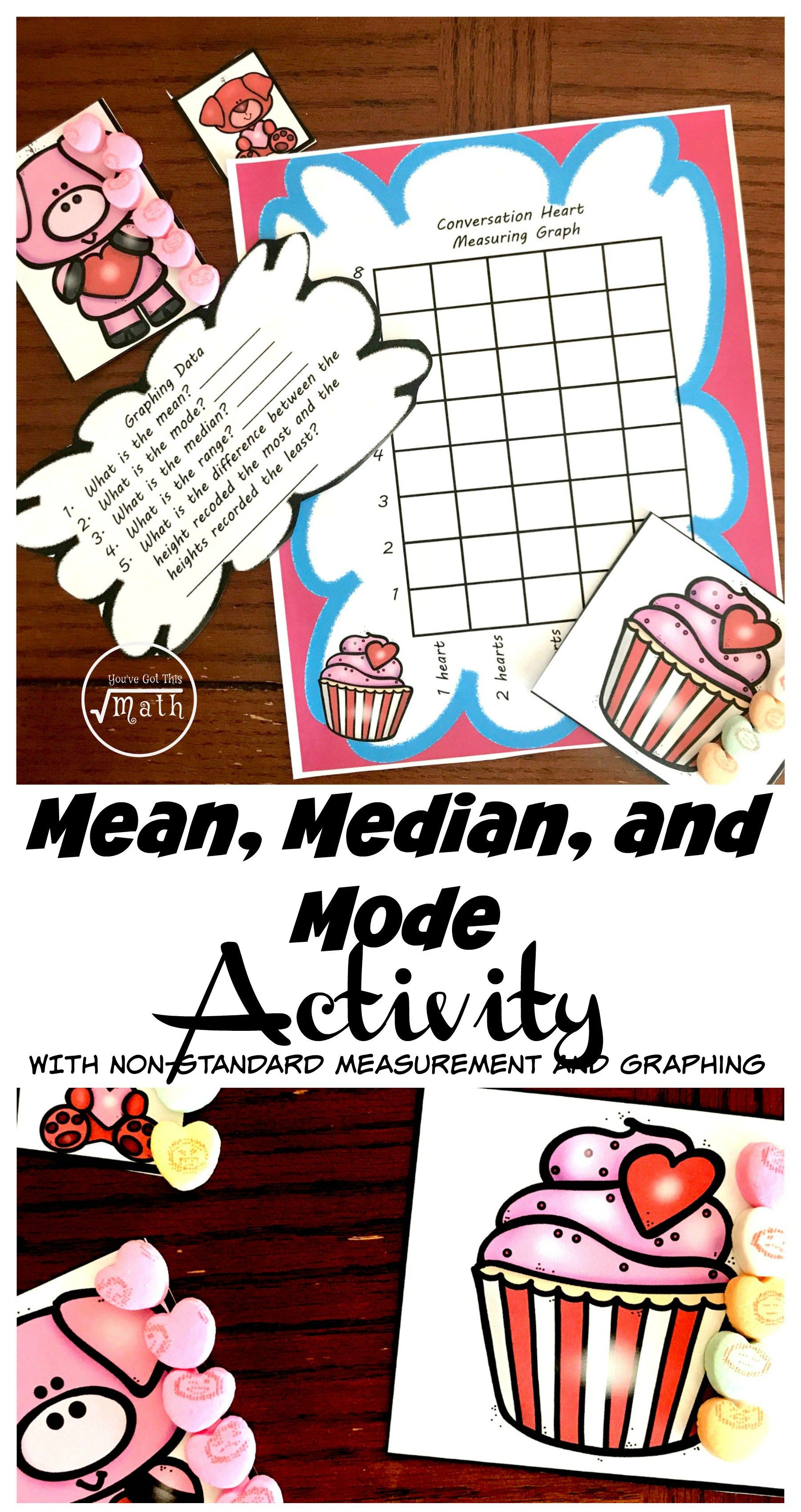 Find The Mean Median And Mode With This Fun Hands On