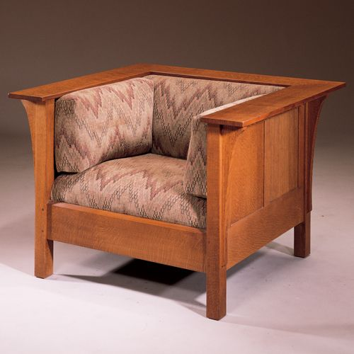 Perfect Stickley 416 Prairie Chair