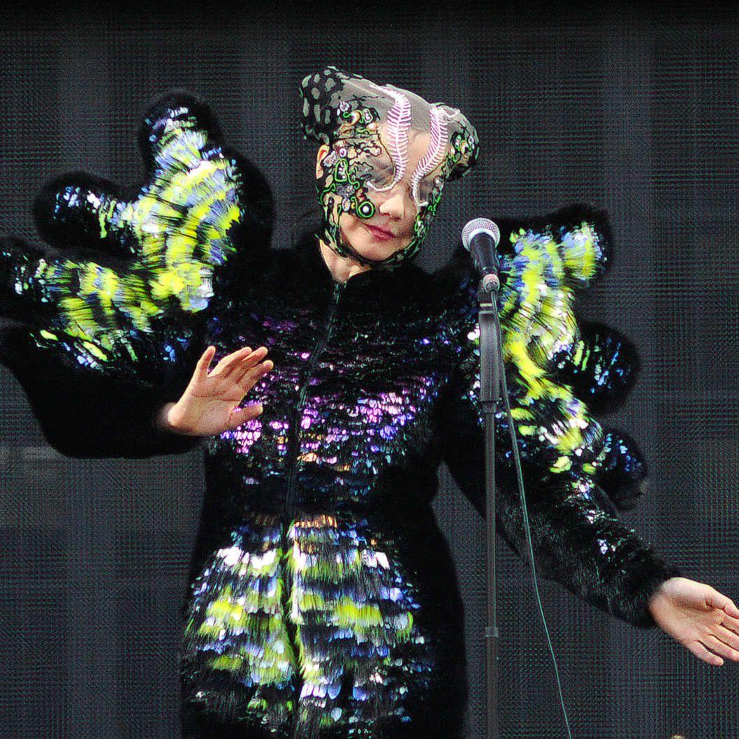 björk guðmundsdóttir: Björk - Live @ Glastonbury Festival