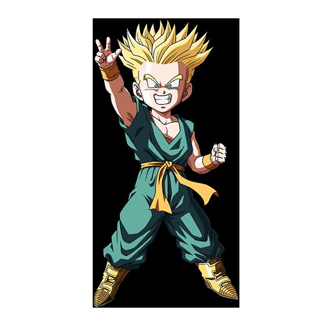 Kid Trunks Ssj Render 2 Sdbh World Mission By Maxiuchiha22 Trunks Dbz Dragon Ball Dbz Characters