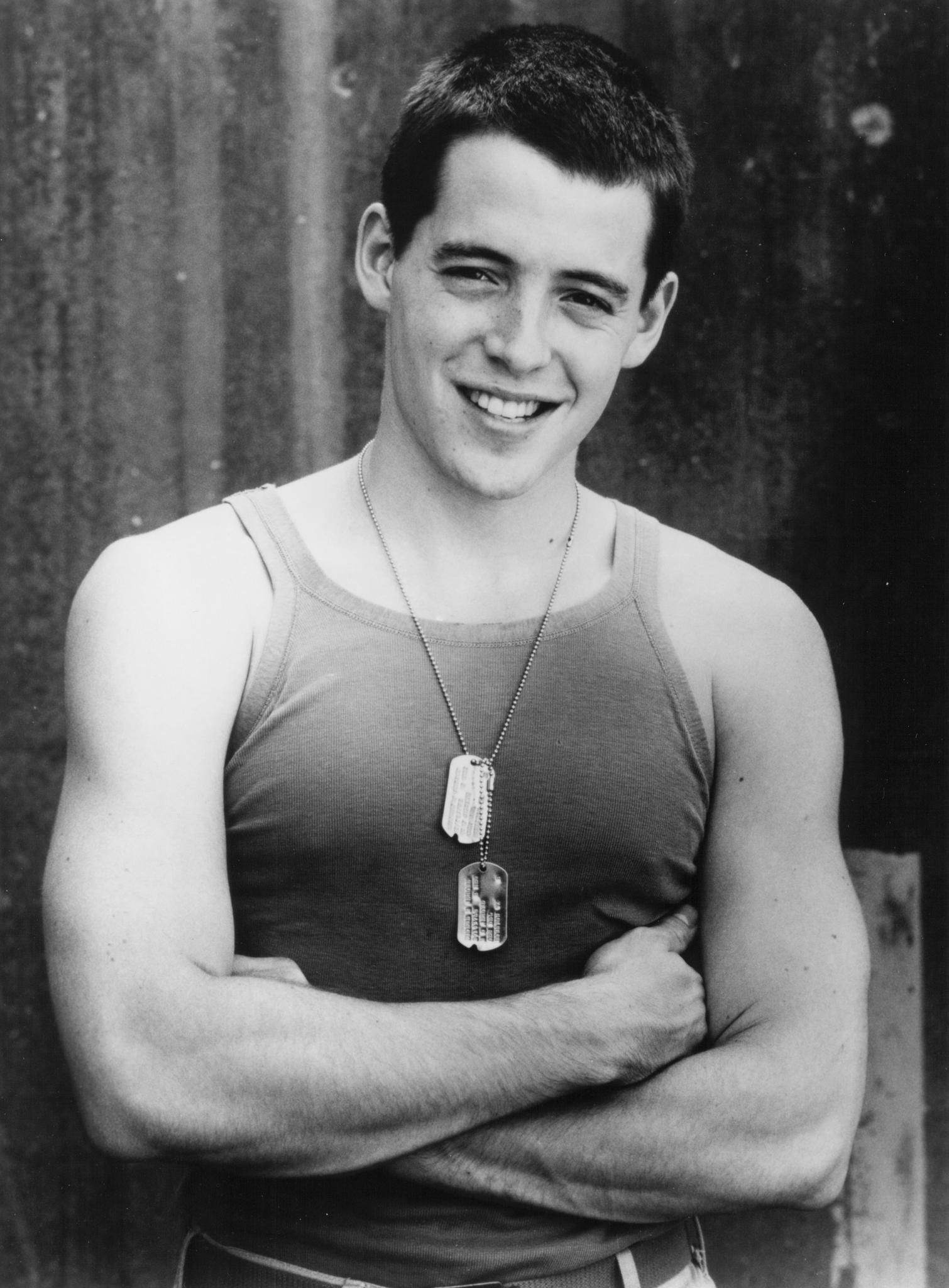 Still Of Matthew Broderick In Biloxi Blues 1988 Matthew