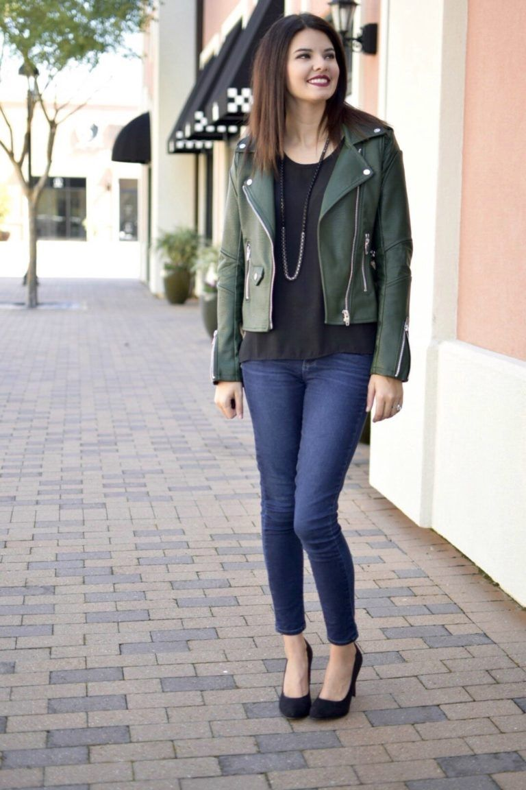 Not Your Average Faux Leather Jacket Leather Jacket Outfits