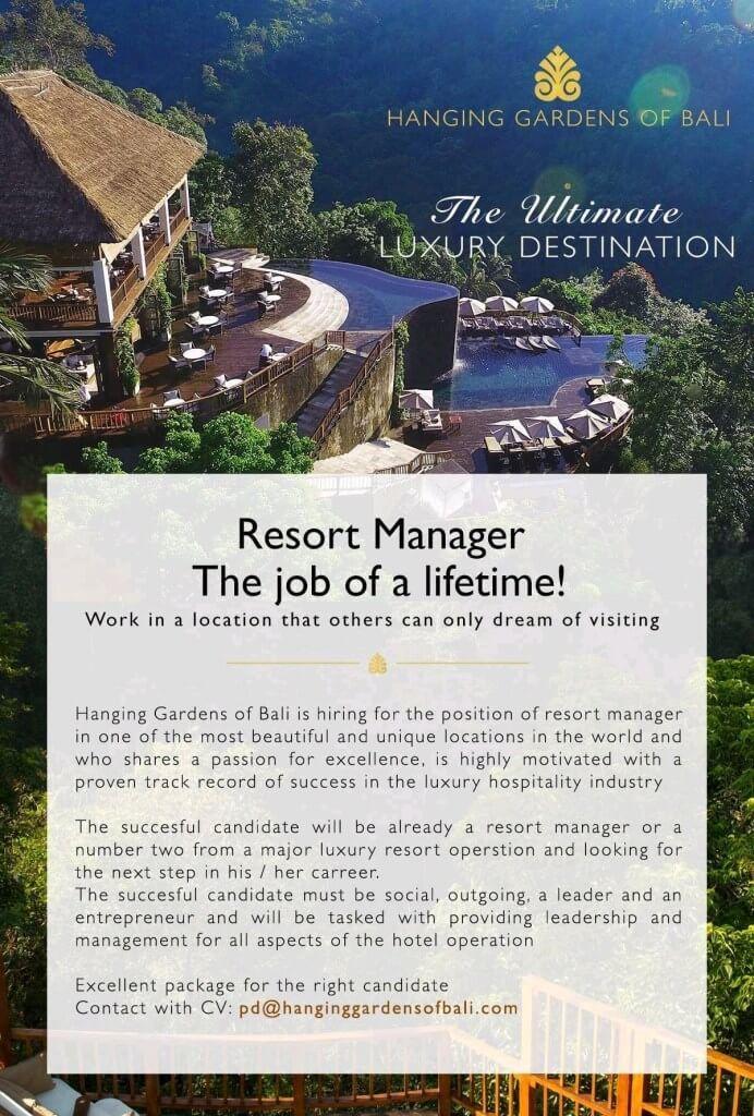 Hanging Gardens of Bali Jobs News Destin resorts