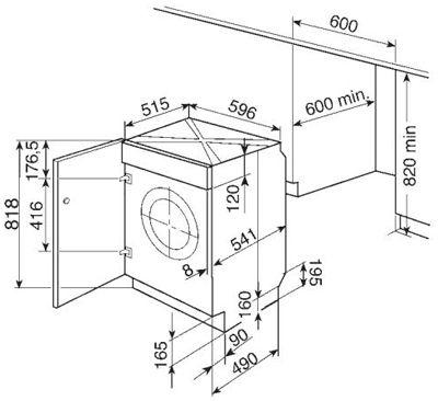 размеры стиральной машины Поиск в Google Дизайн кухонь
