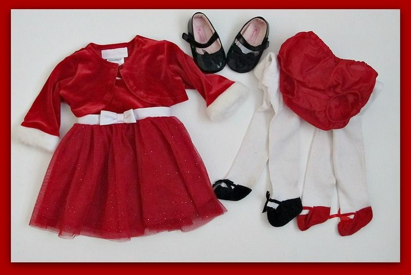 b3b36a56e600 0-3 Months Baby Girl Christmas Dress  ♥ BONUS GIN ♥