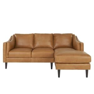 Best Ashwell Right Hand Facing Chaise End Corner Sofa Pecan 640 x 480